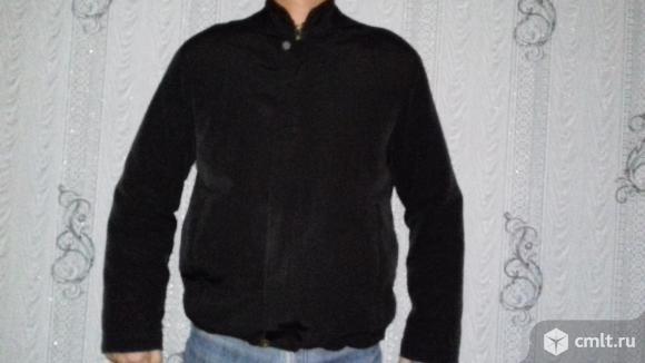 Демисезонная куртка с подстежкой из синтепона.. Фото 1.