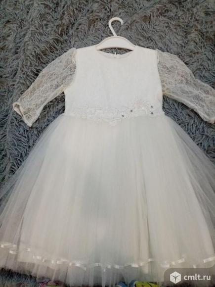 Продаю нарядное платье на девочку.. Фото 1.