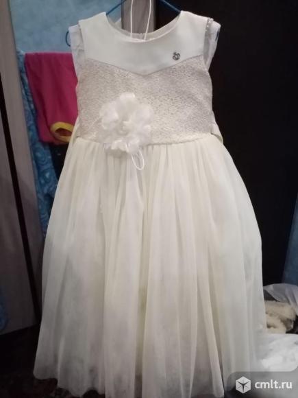 Продаю нарядное платье для девочки.. Фото 1.