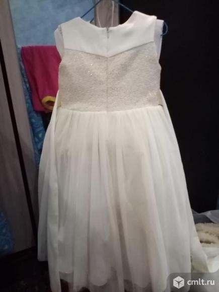 Продаю нарядное платье для девочки.. Фото 3.