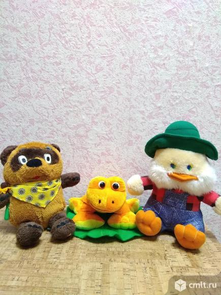 Детские мягкие игрушки. Фото 1.