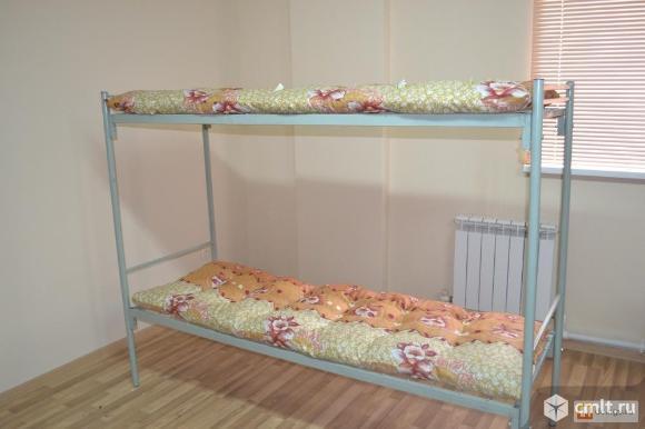 Металлические кровати эконом-класса.. Фото 4.
