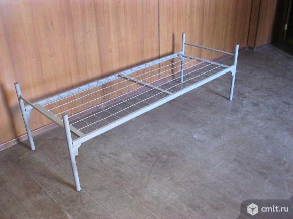 Металлические кровати эконом-класса.. Фото 1.