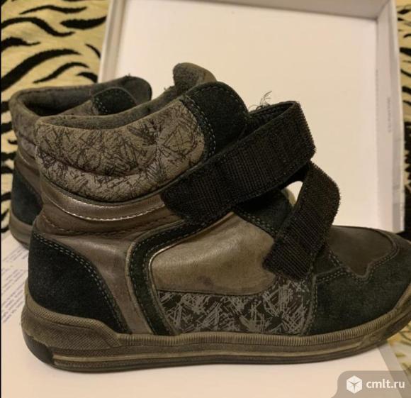 Детские ботинки 33 размер демисезон. Фото 1.