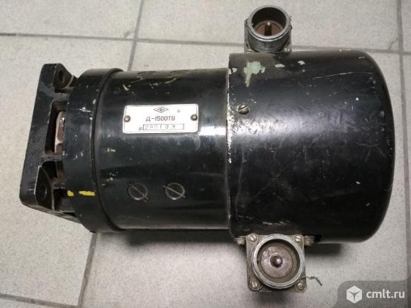 Электродвигатель Д-1500ТВ. Фото 2.