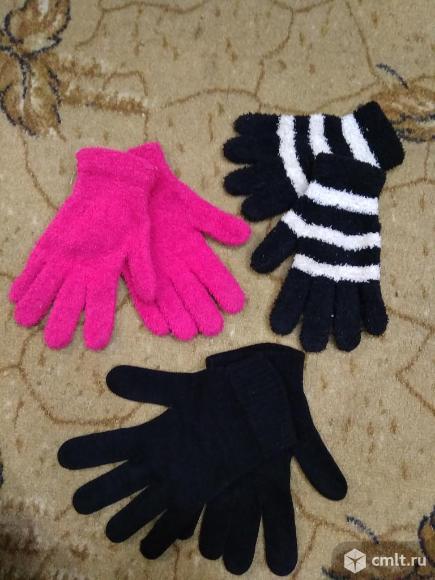 Варежки, перчатки женские. Фото 7.