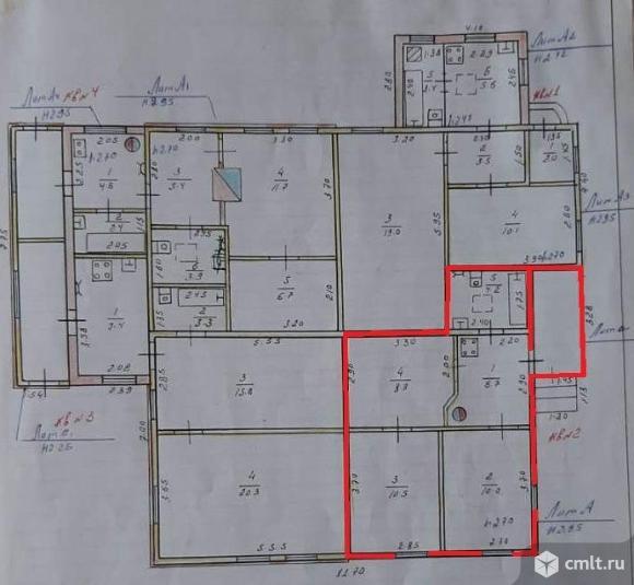 Часть дома 43,33 кв.м. Фото 11.