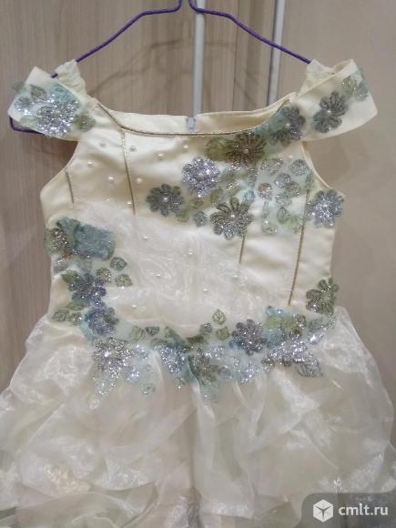 Платье праздничное. Фото 1.