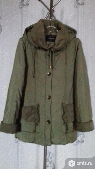 Куртка тёплая на синтепоне. Фото 1.