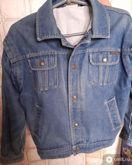 """Куртка джинсовая """"Турбо"""" оригинал с подкладкой. Фото 1."""