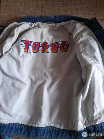 """Куртка джинсовая """"Турбо"""" оригинал с подкладкой. Фото 3."""