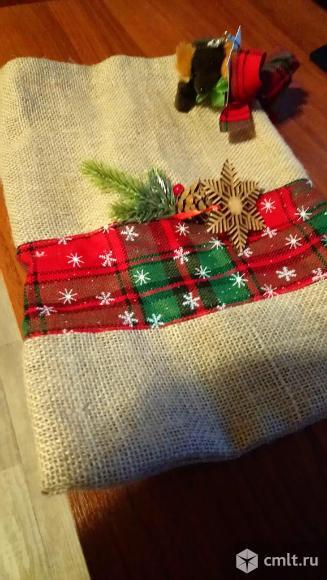 Новогодний мешочек для подарков (новый). Фото 1.