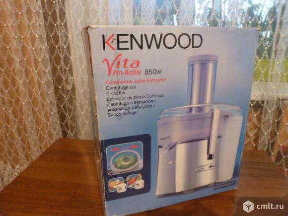 Соковыжималка Kenwood Vita Pro-Active 850W. Фото 8.