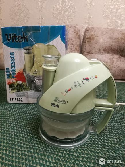 Кухонный комбайн Vitek VT-1602 Mini PRO. Фото 1.