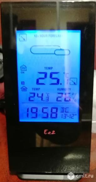 Часы будильник календарь метеостанция Ea2 BL503. Фото 3.