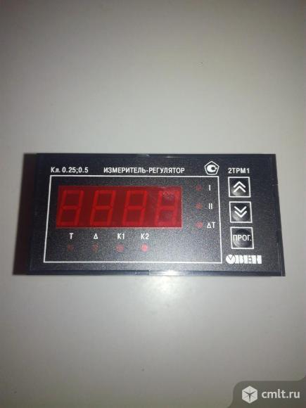 Измеритель-регулятор двухканальный овен 2ТРМ Щ1 У РР. Фото 1.