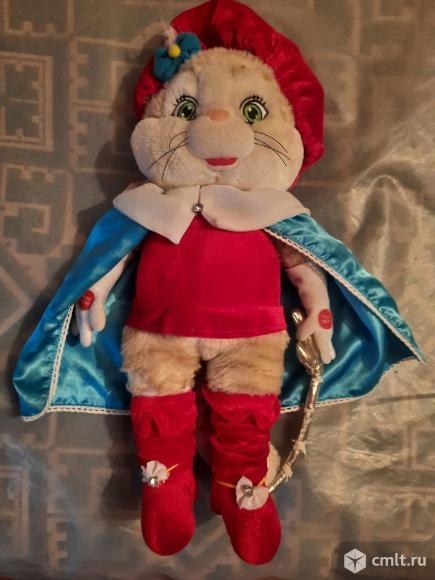 Игрушка Кот мушкетёр. Фото 1.