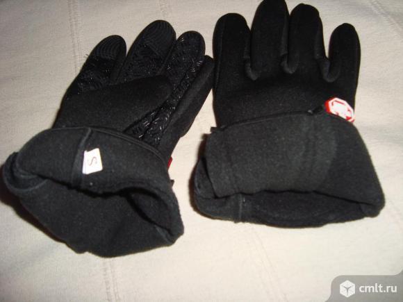 Перчатки велосипедные зимние X-tiger, р. S. Фото 5.