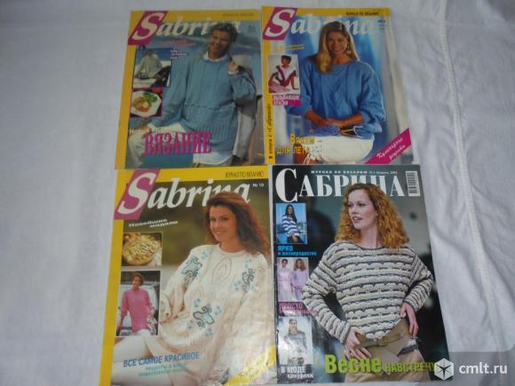 Журналы по вязанию Сабрина Sabrina, Сандра Sandra, Диана Diana. Фото 5.