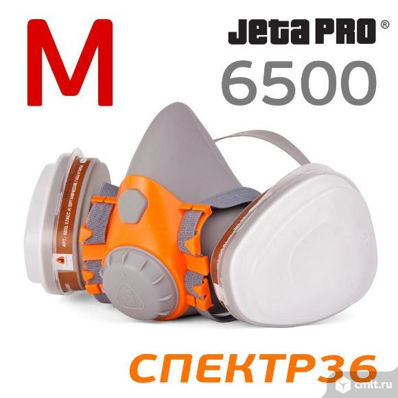 Респиратор в сборе JetaPRO Safety 6500 (р. M). Фото 1.