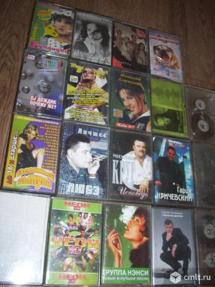 Аудио / стереокассеты  и  DVD-диски. Фото 7.