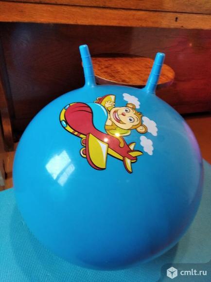 Детский гимнастический мяч (фитбол). Фото 1.