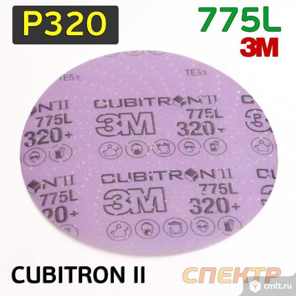 Круг шлифовальный ф150 3M 775L (Р320) Multihole. Фото 1.