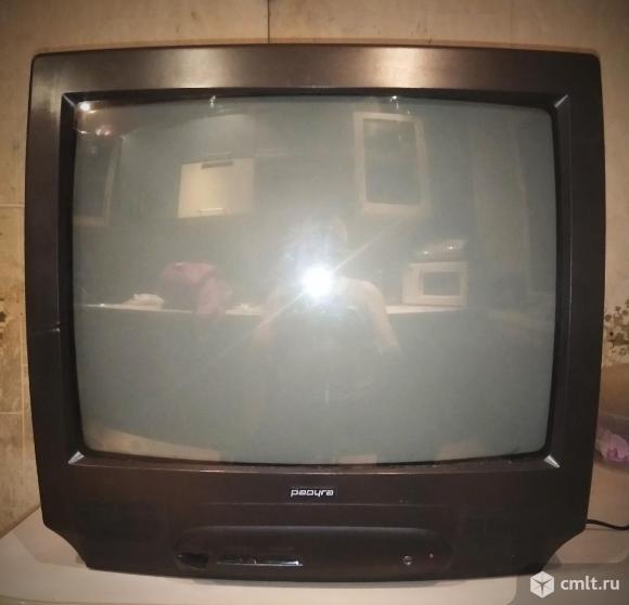 Телевизор кинескопный цв. Радуга 5186. Фото 1.