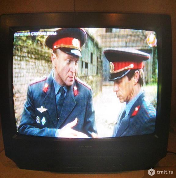Телевизор кинескопный цв. Радуга 5186. Фото 4.