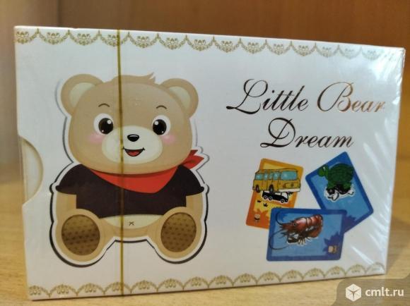 Карточки развивающие Little Bear Dream. Фото 1.