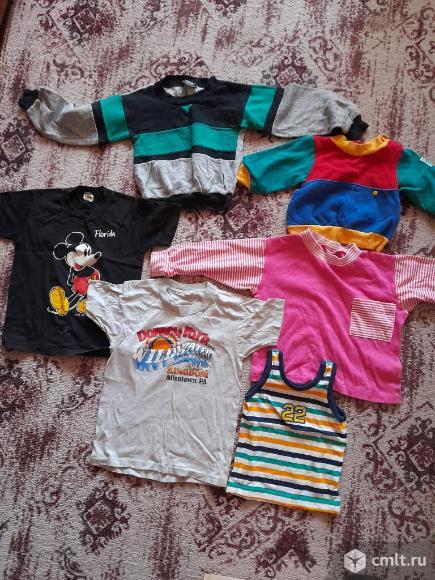Детская импортная одежда пакетом. Фото 1.