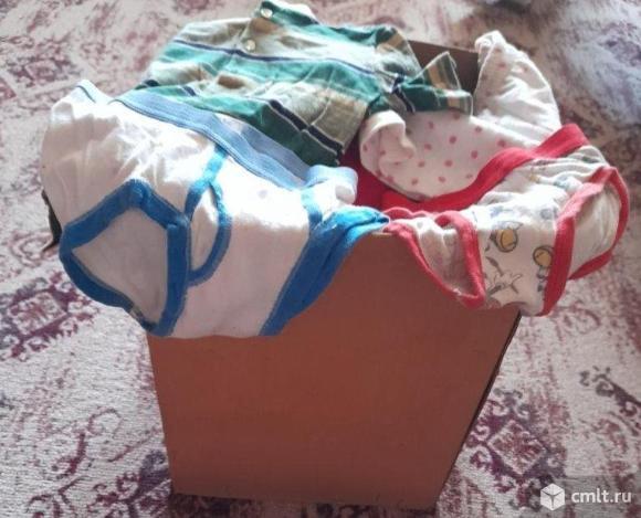 Детская импортная одежда пакетом. Фото 2.
