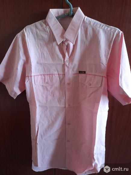 Рубашки мужские импортные х/б - 2шт.. Фото 1.
