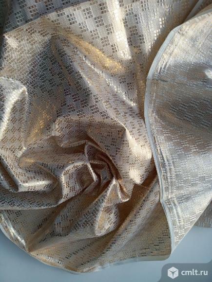 Ткань новая  и парча. Фото 5.