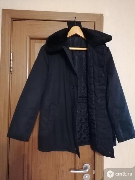 Куртки тёплые размеры 44,46,48 новые. Фото 1.