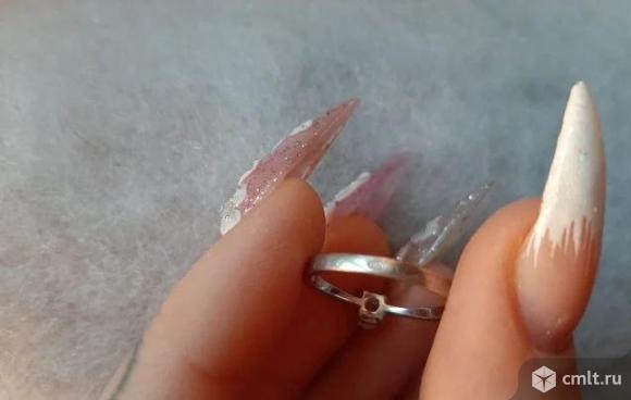 Кольцо серебряное. Фото 4.