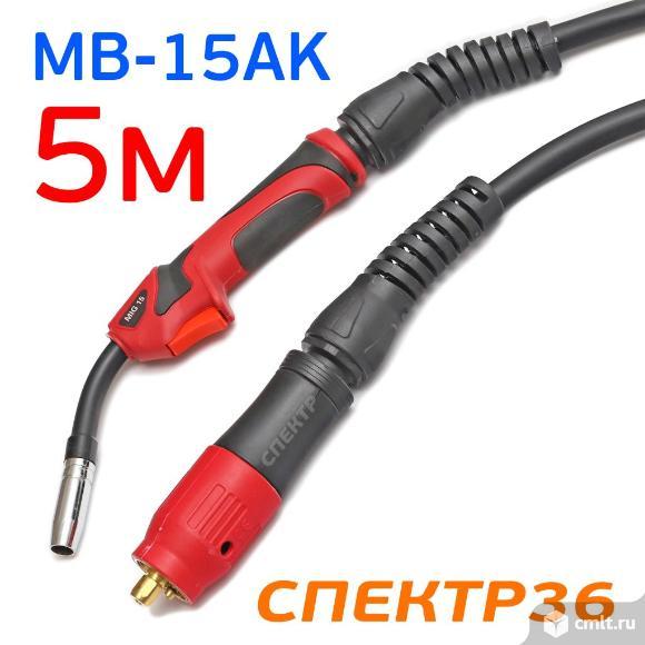 Горелка с евроразъемом MB-15AK (5м) Expert Torch. Фото 1.