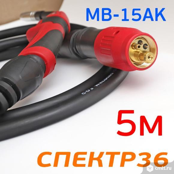 Горелка с евроразъемом MB-15AK (5м) Expert Torch. Фото 2.