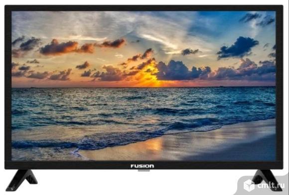 "Новый Smart Wi-Fi 24""(61 см) тв Fusion FLTV-24AS210. Фото 1."