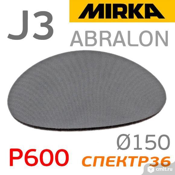 Круг на поролоне ф150 Mirka Abralon J3 (Р600). Фото 1.