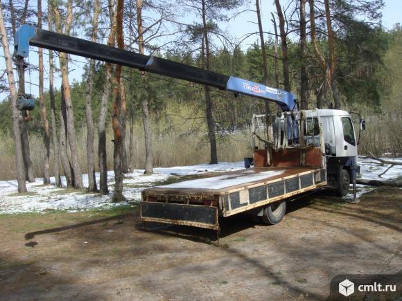 Автокран-манипулятор Isuzu-Forward, стрела 3 т.. Фото 5.