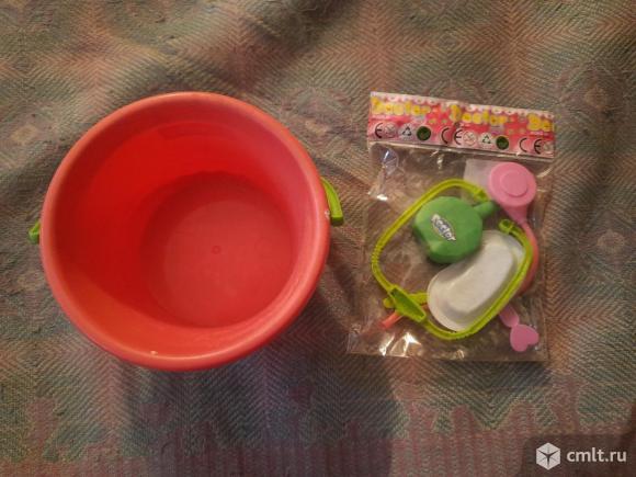 """Детский набор игрушка """" Доктор"""" и ведёрко. Фото 1."""