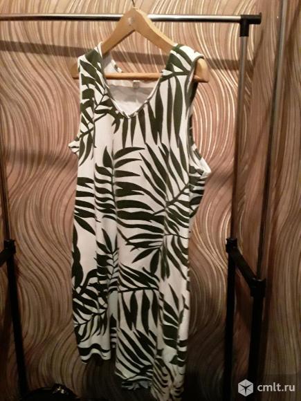 Платье летнее трикотажное. Фото 1.