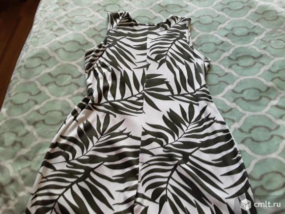 Платье летнее трикотажное. Фото 2.