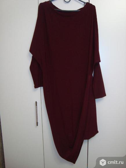 Платье трикотажное, Турция, р. 46-48. Фото 1.