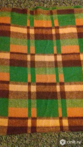 Одеяло шерстяное, СССР. Фото 1.