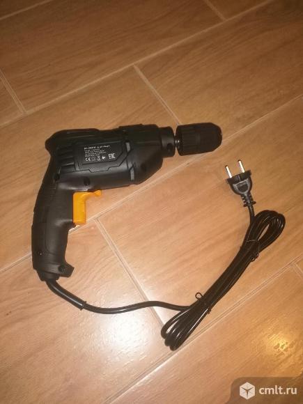 Дрель электрическая шнуровая 600 Вт. Фото 1.