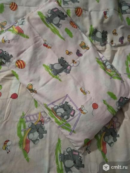 Подушка с наволочкой и простынью. Фото 2.