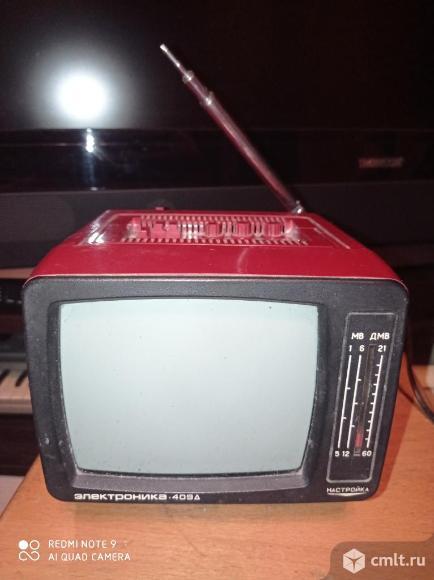 Телевизор Электроника 409д. Фото 1.