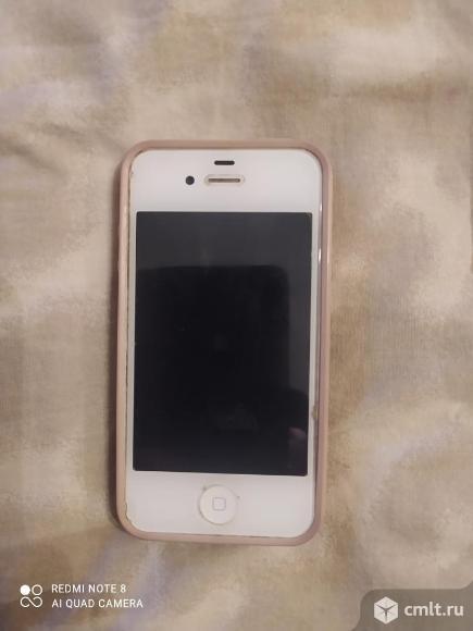 Смартфон Apple4s айфон. Фото 1.